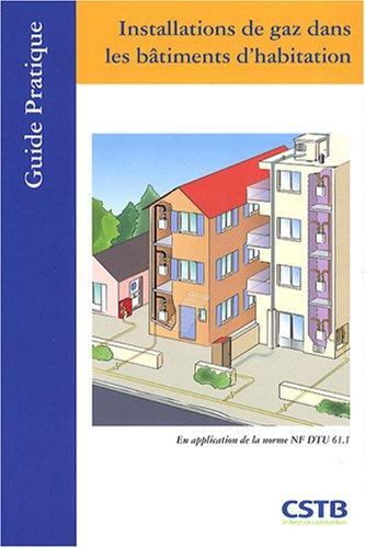 9782868913890: Installations de gaz dans les bâtiments d'habitation
