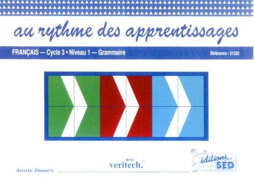 9782868934451: Mini Veritech Français grammaire Cycle 3 Niveau 1