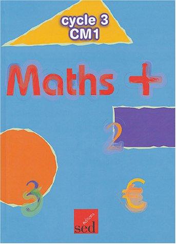 9782868937773: Maths + CM1