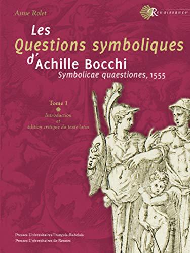 LES QUESTIONS SYMBOLIQUES D'ACHILLE BOCCHI - SYMBOLICAE: BOCCHI ACHILLE