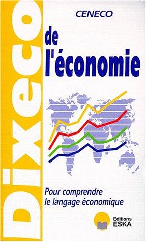 9782869113671: DIXECO DE L'ECONOMIE. 7�me �dition