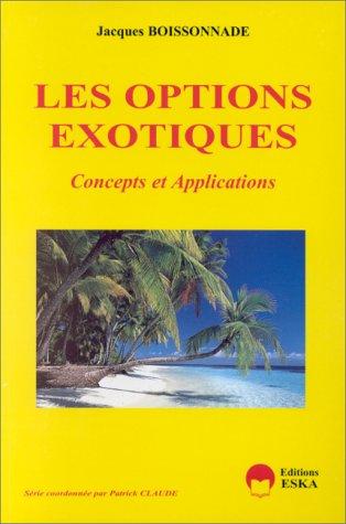 Les options exotiques: Boissonnade, J.