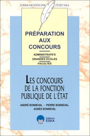 Concours fonction publiq.etat (French Edition): Agnès Bonneval, Pierre Bonneval