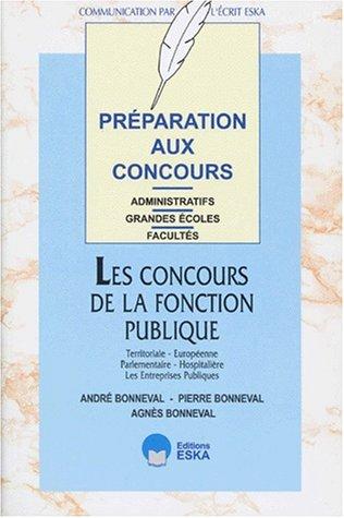 Préparations aux concours : les concours de la fonction publique territoriale, europé...