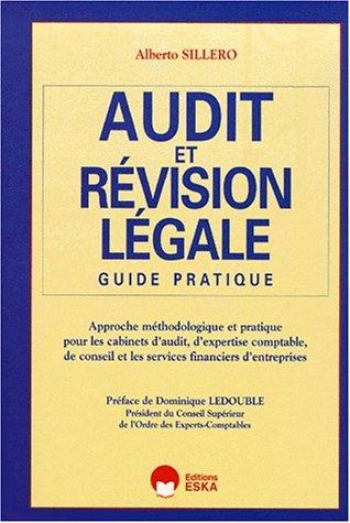 Audit et révision legale: Sillero