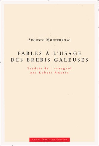 9782869160781: Fables a l'usage des brebis galeuses (French Edition)