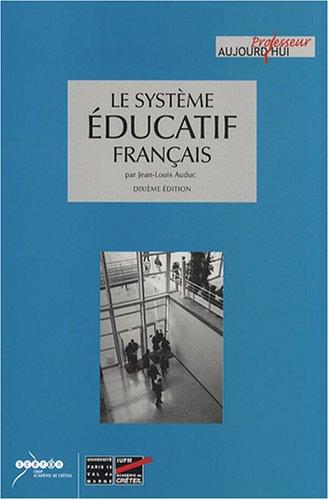 9782869182028: Le système éducatif français