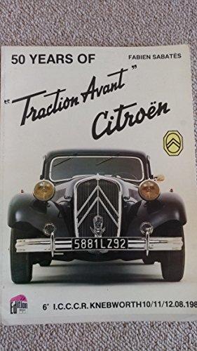 9782869220010: 50 ans de Traction Avant Citroën