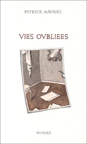 9782869301795: Vies oubliées (French Edition)