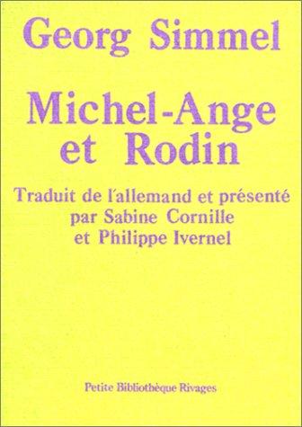 Michel-Ange et Rodin: Simmel, Georg