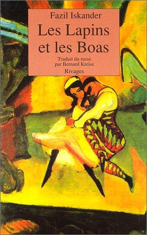 9782869304086: Les Lapins et les boas : Conte philosophique