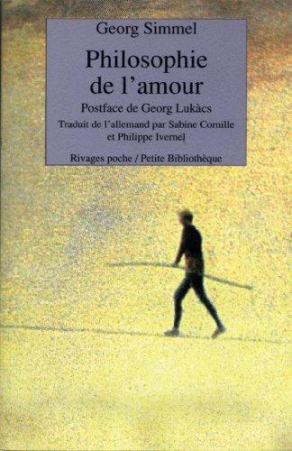 Philosophie de l'amour: Georg Simmel