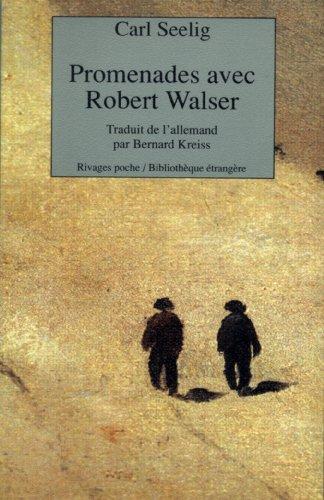 9782869305397: Promenades avec Robert Walser