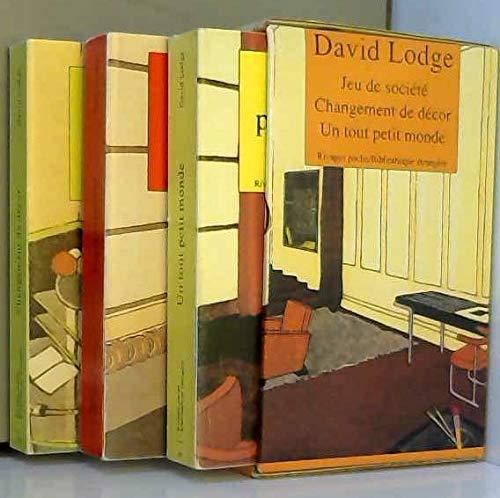 9782869307162: Coffret David Lodge : Trilogie de Rummidge - Changement de décor - Jeu de société - Un tout petit monde