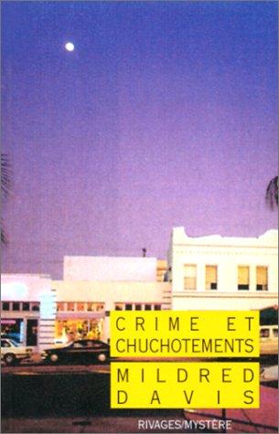 9782869309029: Crime et chuchotements (Rivages mystère)