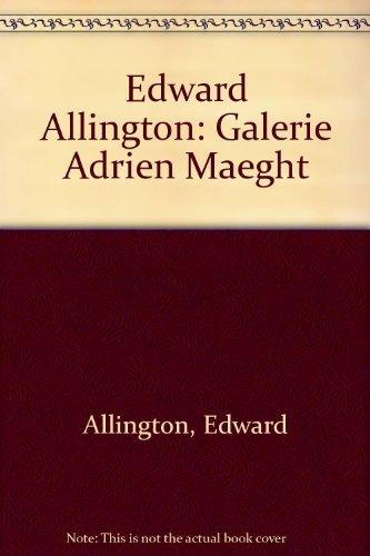 9782869410305: Edward Allington: Galerie Adrien Maeght
