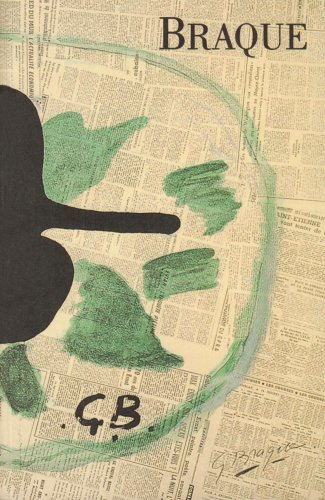 Georges Braque Oeuvres Grave: Rene Char, Francis Ponge, Jacques Prevert, Pierre Reverdy, Dora ...