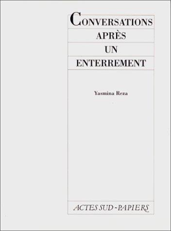 9782869430853: Conversations après un enterrement (Théâtre) (French Edition)