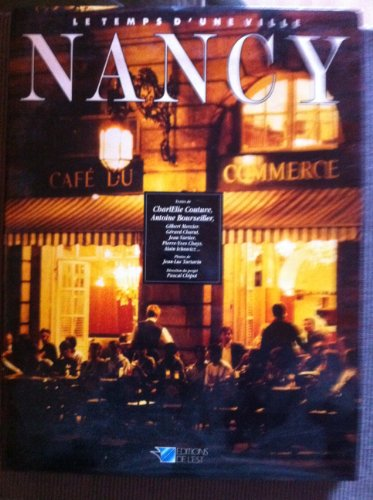 9782869550940: Nancy: Le temps d'une ville