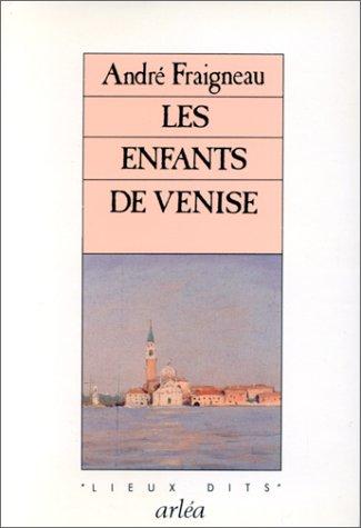 9782869590267: Les enfants de Venise