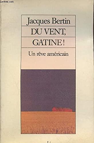 9782869590632: Du vent, Gatine!: Un rêve américain (French Edition)