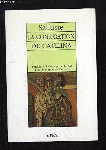 La conjuration de Catilina [Dec 01, 1994]: Salluste
