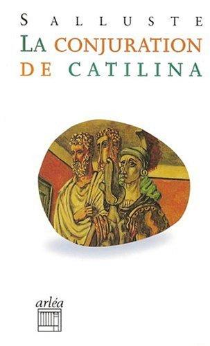 9782869594579: La conjuration de Catilina (Arléa-Poche)
