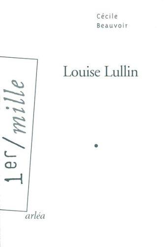 9782869596306: Louise Lullin