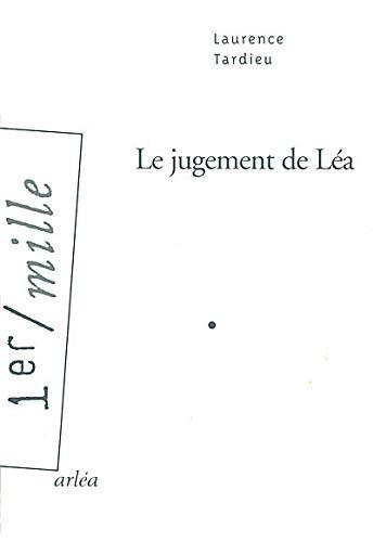 9782869596559: Le Jugement de Léa