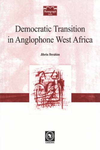 9782869781221: Democratic Transition in Anglophone West Africa