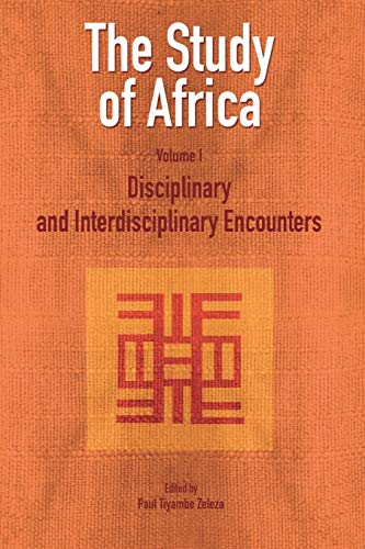 9782869781979: The Study of Africa Volume 1: Disciplinary and Interdisciplinary Encounters