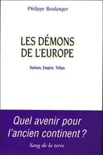 9782869851139: Les d��mons de l'Europe