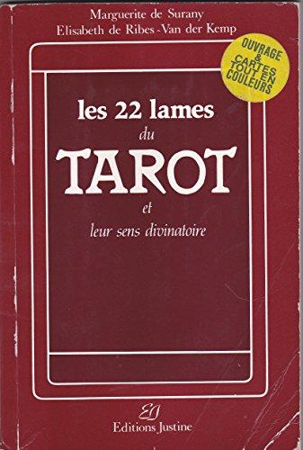 9782869960008: Les 22 lames du tarot