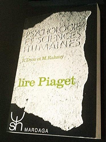 9782870090404: Lire Piaget
