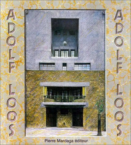 9782870091746: Adolf Loos, 1870-1933 (French Edition)