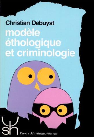 9782870092224: Mod�le �thologique et criminologie