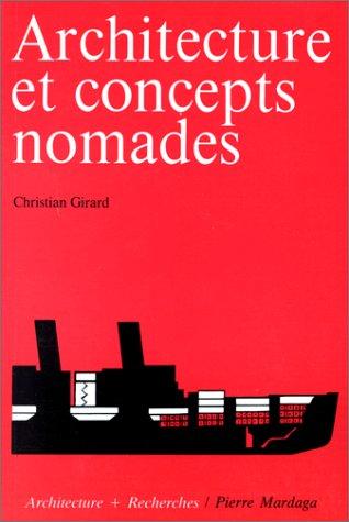 9782870092590: Architecture et concepts nomades