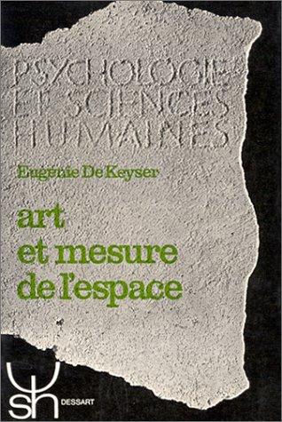 9782870094549: Art et mesure de l'espace