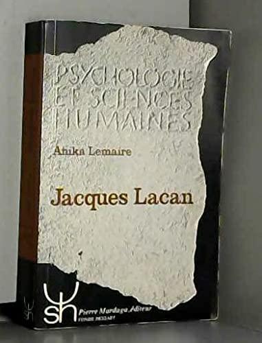 9782870094594: Jacques Lacan (Psychologie et sciences humaines) (French Edition)