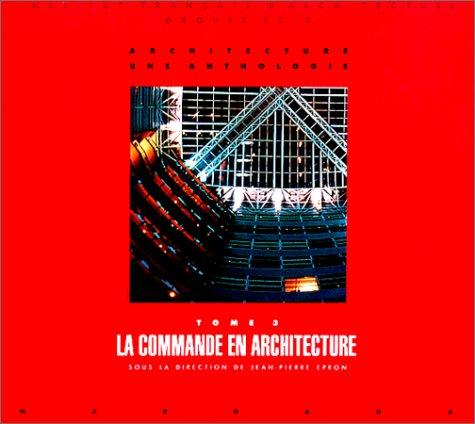 9782870095157: Architecture, une anthologie