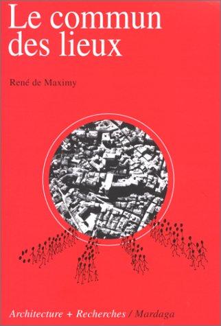 9782870097151: Commun des lieux (French Edition)