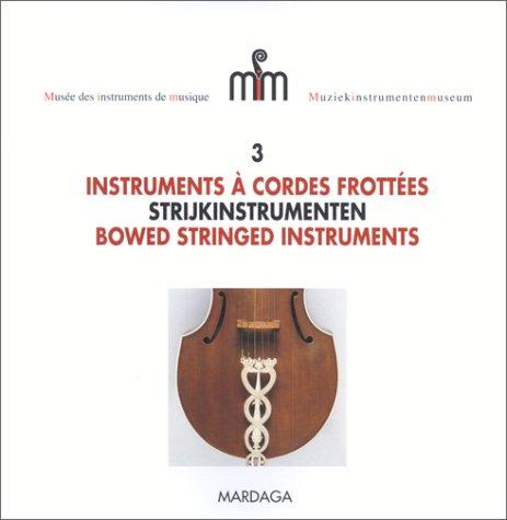 9782870097359: Instruments à cordes frottées