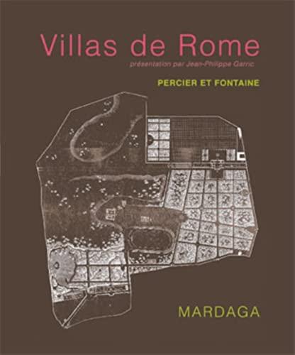 9782870099513: Villas de Rome (French Edition)