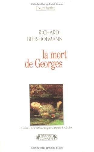 9782870273500: Mort de Georges (La)