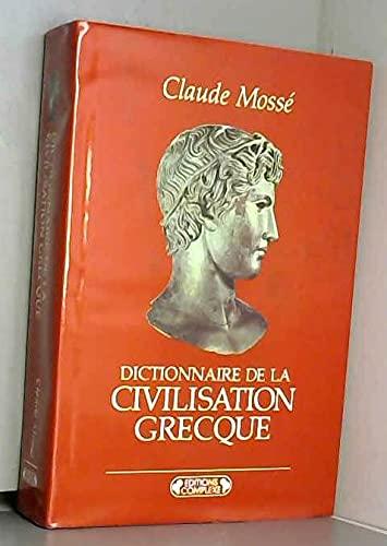 9782870274415: Dictionnaire de la civilisation grecque