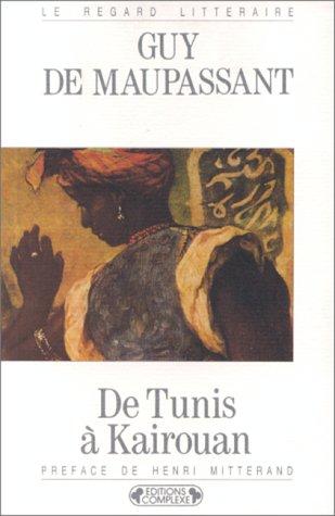 9782870274781: De Tunis à Kairouan