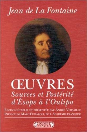 9782870275627: Oeuvres : Sources et postérité d'Esope à l'Oulipo