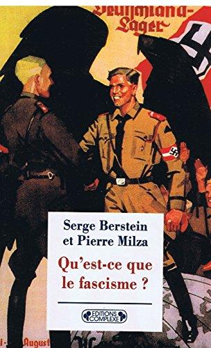 9782870277638: Qu Est Ce Que le Fascisme ?