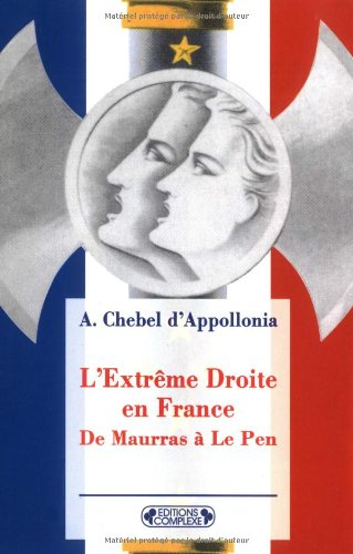 9782870277645: L'Extreme Droite En France (French Edition)