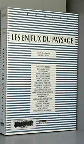 9782870600634: Les enjeux du paysage: Recueil (French Edition)